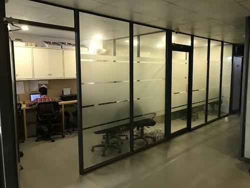 Aluminium & Glass Partition - Frameless Glass Partition