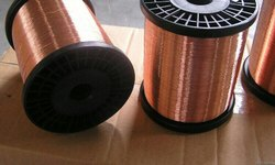 Solid Bare COPPER WIRE, For Industrial, Wire Gauge: 31swg