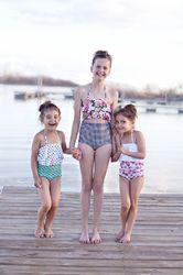 Girls & Ladies Kids Swimming Costume