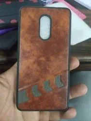 Leather Samsung Mobile Back Cover