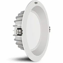 Round Aluminum Wipro 15W, 10W LED Downlight, IP44