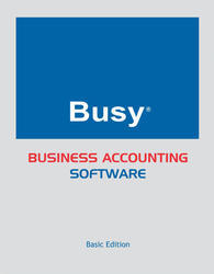 Busy Bs GST Ready Accounting Software