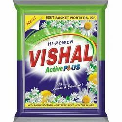 Lemon Jasmine Active Plus Detergent Powder, Packaging Size: 18 Kg, Packaging Type: Packet