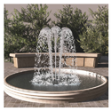 Circular Water Fountain