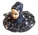 Organic Jersey Stretchable Printed Hijab Scarf