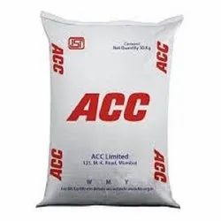 PPC (Pozzolana Portland Cement) ACC Cement, Packaging Size: 50kg, Cement Grade: Grade 53