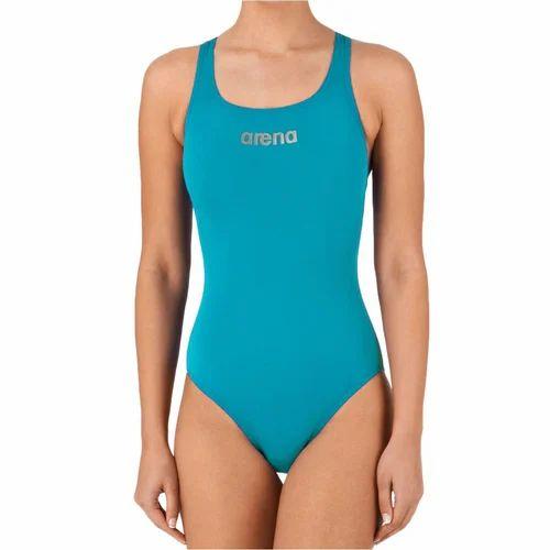 865ce8a0aa56b Arena Girls Blue Swimming Costume, Rs 995 /piece, Vishwanath ...