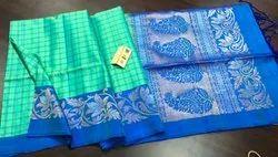 Indian Ethnic Designer Kanchipuram Silk Saree