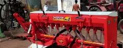 MANOOR Mild Steel ROTO SEED DRILL MACHINE, Size: 7 Feet, for Agriculture