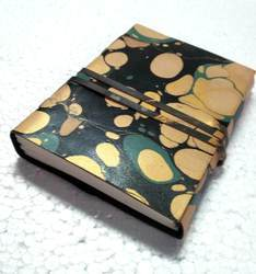 Printed Handmade Designer Leather Journal