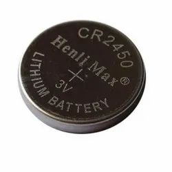 Henli Max CR 2450 Lithium Coin Cell Battery