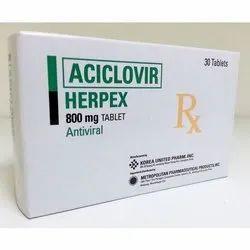 800 mg Aciclovir Herpex Tablet
