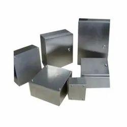Mild Steel Sheet Metal Component, For Industrial