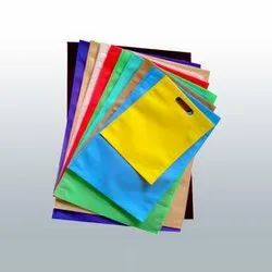 Plain D Cut Non Woven Shopping Bag, Capacity: 1 Kg
