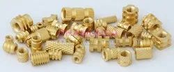 Brass Knurling Inserts, Packaging Type: Box