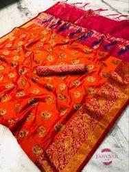 Multicolour Banarasi Silk Sarees