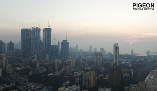 Aerial Drone Photography Services in Lbs Marg, Mumbai, Pigeon