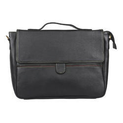 LEATHERITE BLACK EXECUTIVE BAG