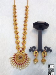 South Indian Style Matte Jewellery Set