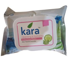 Kara Cleansing And Hydrating Refreshing Wet Wipes, Packaging Size: 5 Wipes