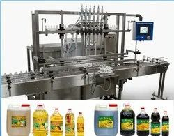 Oil Filling & Capping Machine