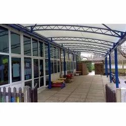School Tensile Roofing Sheds