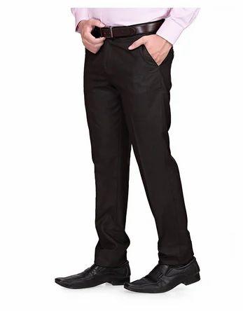 3c832d5b27e Rg Designers (Brown) Slim Fit Men s Formal Trousers Dn2035a at Rs ...