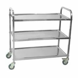 Stainless Steel 3 Layer Trolley