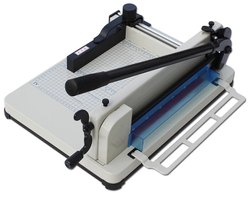 Mild Steel Manual Paper Cutting Machine, Model Name/Number: 858