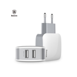 2.4A Dual USB Port Travel Adapter Charger