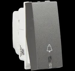 Grey Havells 6 A Bell Push With Ind Electrical Switch