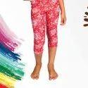 Choco Casual Wear Printed Lycra Cotton Kids Capri