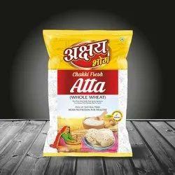 Akshaya Bhog Whole Wheat Chakki Fresh Atta, 5 Kg, Packaging Type: Pp Bag