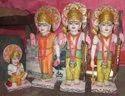 Marble Ram Seeta Laxman Statue