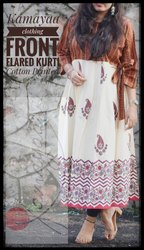 Kamayaa Clothing Party Wear Printed Cotton Kurti