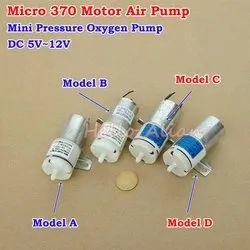 Unique India DC 12V Mini Air Pump Motor for Pet Aquarium Tank Oxygen Circulate