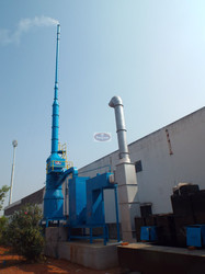Incinerator With Pollution Control Equipment