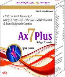 CCM Calcitriol Vitamin K2-7 Omega-3 Fatty Acids Folic Acid Methylcobalamin & Boron Soft Gelatin