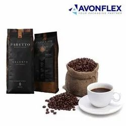 Plastic Laminated Coffee Packaging Bags