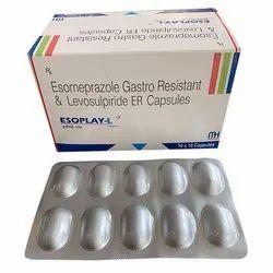 Esomeprazole Gastro Resistant and Levosulpiride ER Capsules