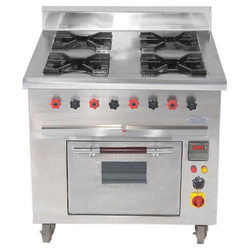 Four Burner Continental Cooking Range