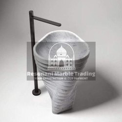 Marble And Stone Pedestal wash basin