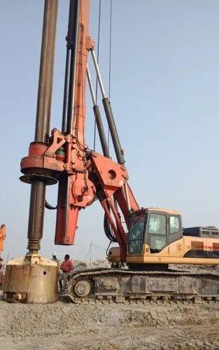 Used Piling Rig, पाइलिंग रिंग | Kolkata
