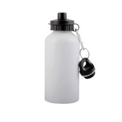 Sipper Bottle 500ml Sublimation Printable Blanks White Fit Cap