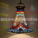 Deshilp Overseas Acc To Standard Mosaic Hanging Lamps