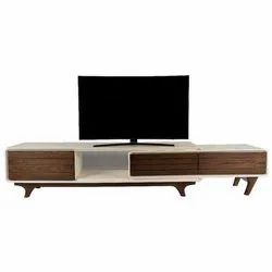 Brown Wooden TV Unit Stand