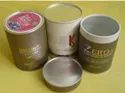 Cylindrical Food Grade Container