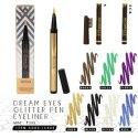 Black Incolor Dreams Eyes Glitter Pen Eyeliner, For Personal