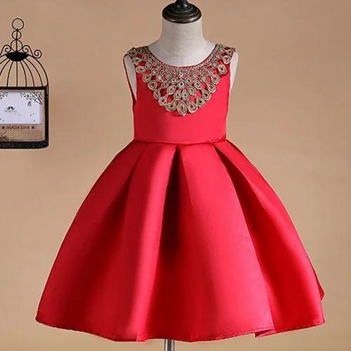ac8642fc2342b7 Stylish Red Sleeveless Dress