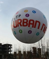 Outdoor Balloon Advertisement Service, in Pune, Size: 12ft